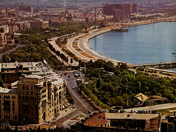 Soviet Baku Then And Now