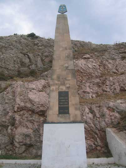 Monument to Soviet Submariners in the Balaklava harbour