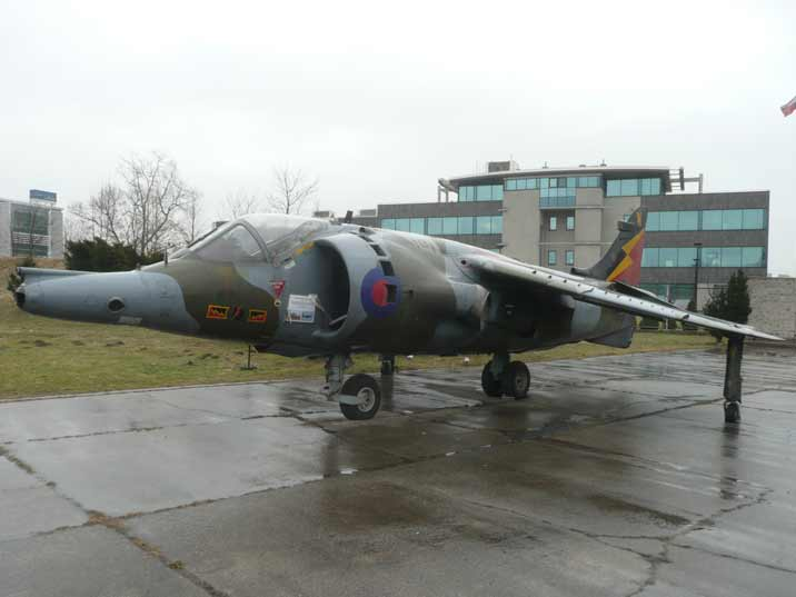Hawker Harrier GR.3 fist generation aircraft of the Harrier series