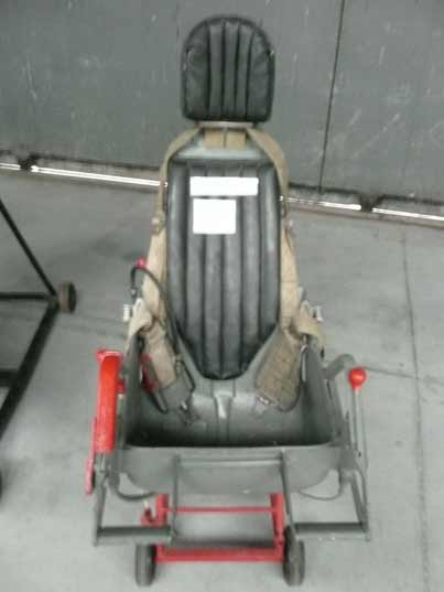 Soviet KK-1 ejection seat used in MiG-17 and MiG-19 fighters