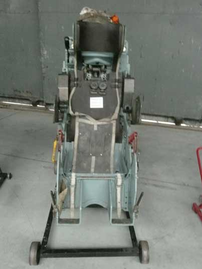 KS-4 ejection seat used in the SU-7 and other Sukhoi aircraft