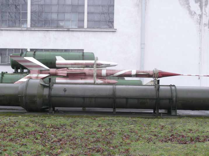Soviet era Meteo rocket probably used on military airfields