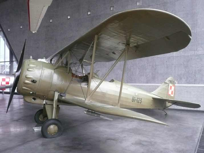 Polish PWS-26 advanced training aircraft, used from 1937 to 1939