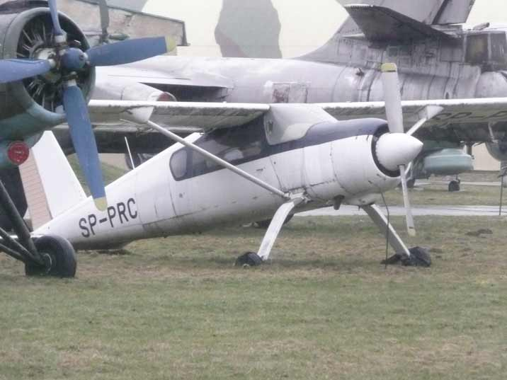 Polish PZL-105M Flaming prototype STOL aircraft developed in 1989