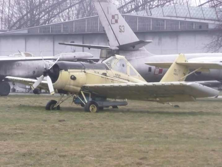 Polish PZL-106 Kruk crop spraying aircraft produced since 1976