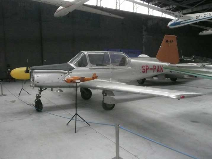 Polish PZL M-4 Tarpan trainer aircraft prototype of the 1960s