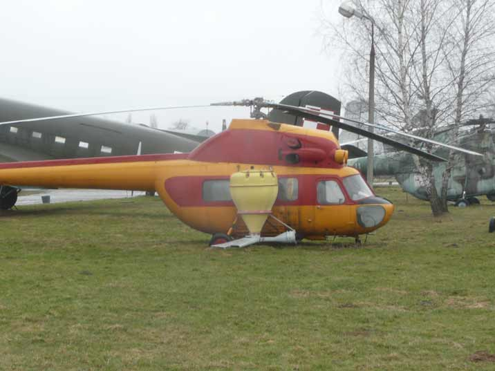 PZL Swidnik Mi-2 cropduster used for agricultural purpose