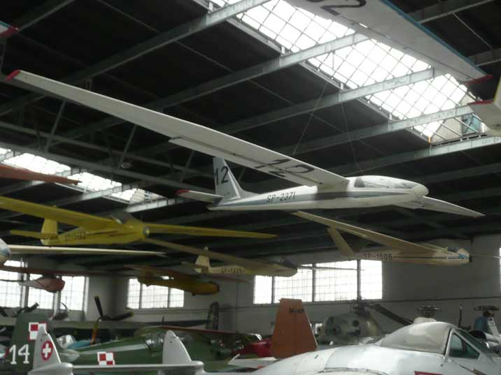 Polish SZD-19 2A Zefir 2A glider build for the 1958 championships