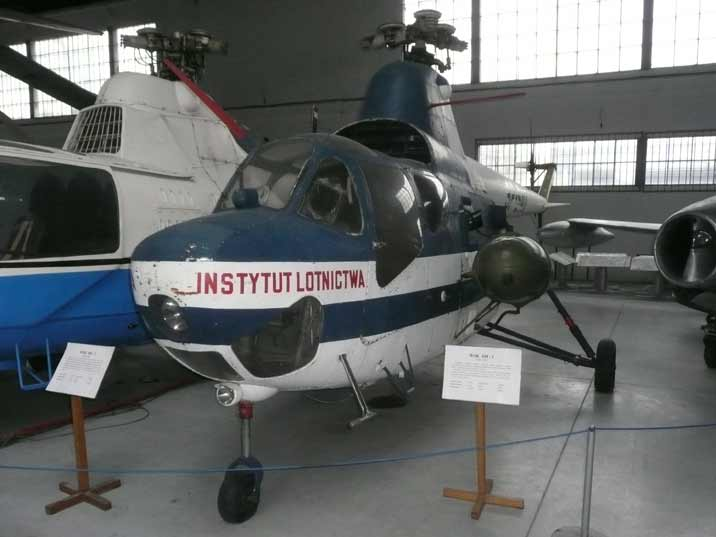 The WSK SM-1 helicopter a incensed Mil Mi-1build in Poland