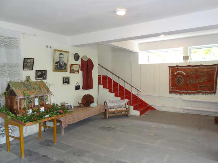 The ground floor of the Mikoyan Museum is dedicated to the early life of the brothers showing personal possessions