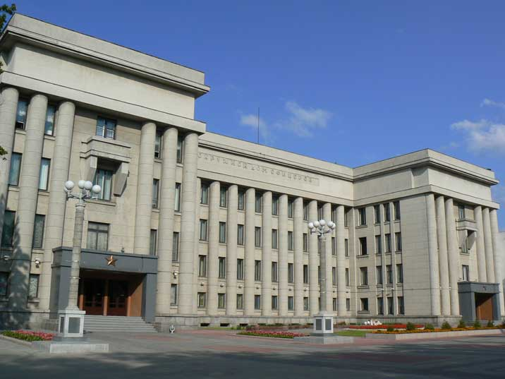 Stalinist architecture of Minsk