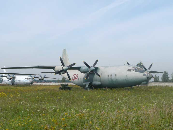 The Antonov An-12 Cub is the military version of the An-10 Cat