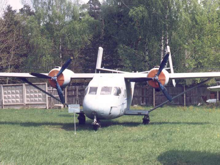 Antonov An-14 twin-engined light STOL utility transport aircraft
