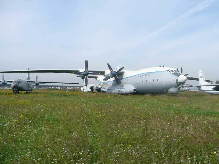 Antonov An-22 Cock is the largest propeller aircraft ever build