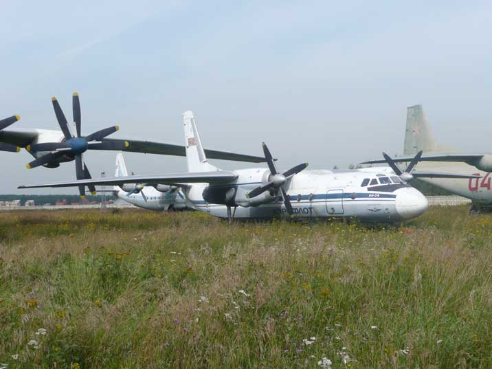 The Antonov An-24 Coke went in production in 1957, 880 still fly