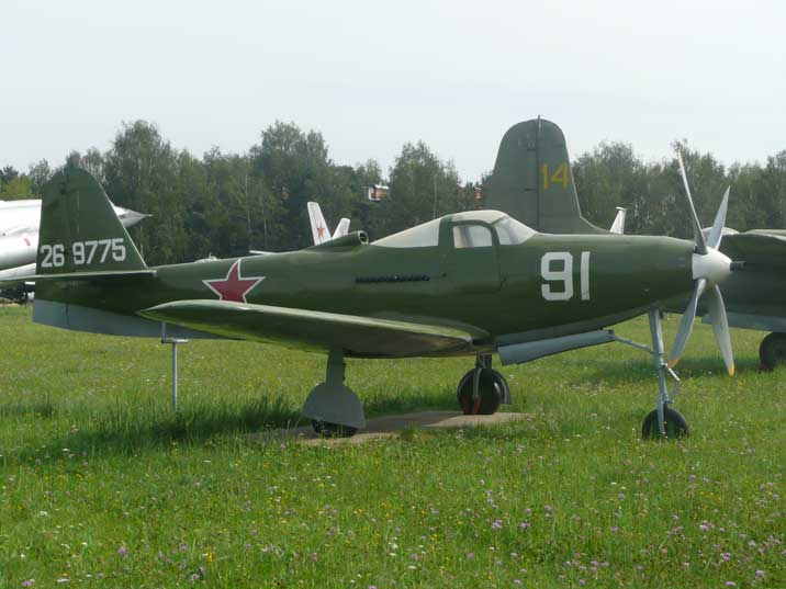 The American Bell P-63 Kingcobra was only used by the Soviet Union