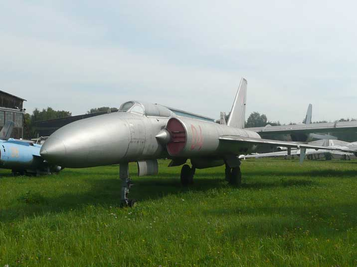 Lavochkin La-250 experimental jet used for missile test launches