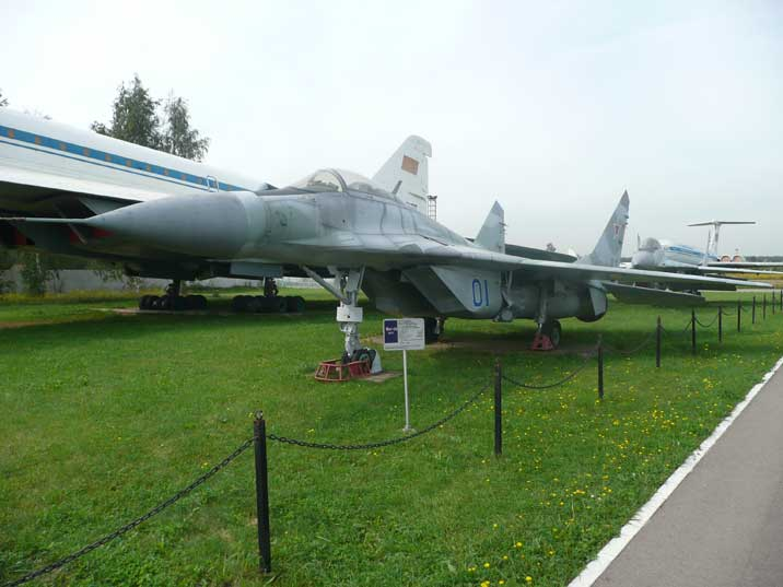 The MiG-29 Fulcrum A was the first high performance Soviet fighter