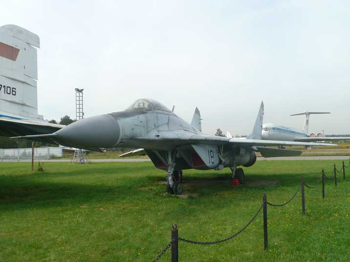 MiG-29K prototype built to test takeoff from an aircraft carrier