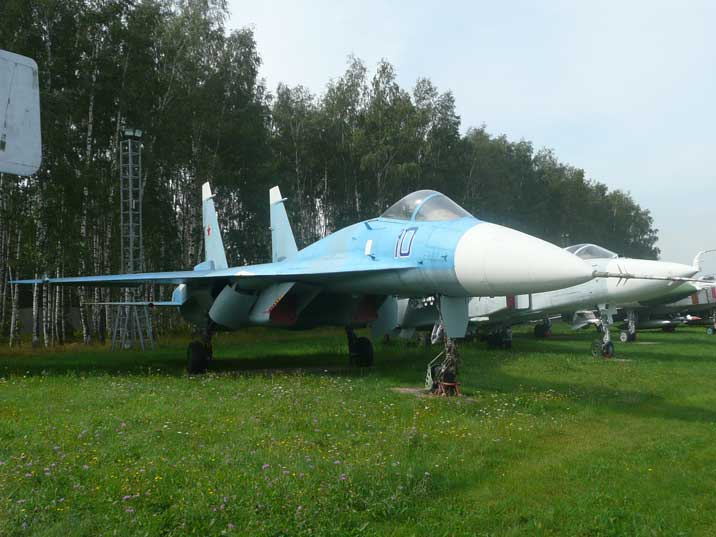 The Sukhoi T-10-1 served as prototype for the famous Su-27 Flanker