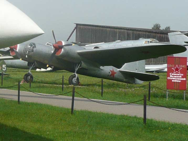 The Tupolev SB or ANT-40 was used during the Spanish Civil War