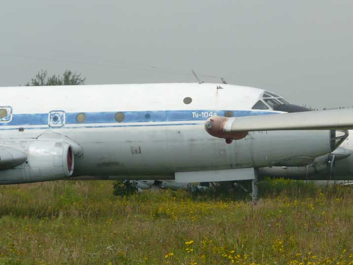 The Tu-104 was the worlds first successful jet powered airliner