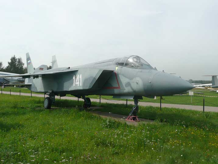 Yakovlev Yak-141 Freestyle prototype that never entered production