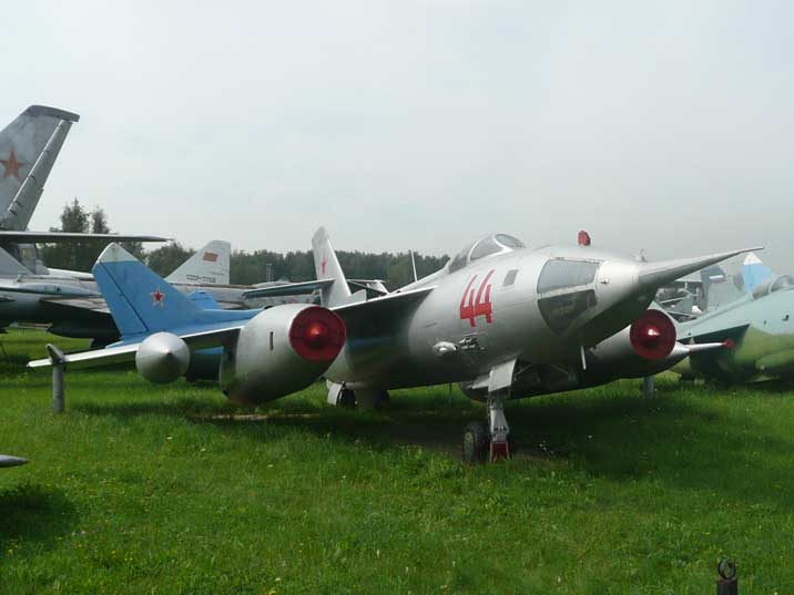 Yakovlev Yak-28I Brewer swept wing turbojet tactical bomber