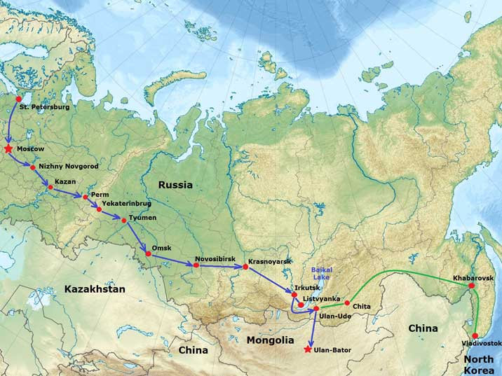 WorldGeographyGold Russia and Central Asia