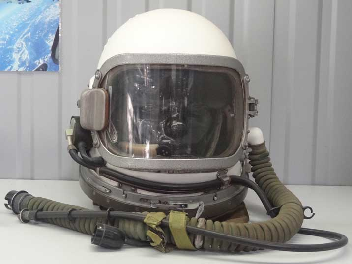 Soviet GSh-6A Helmet used between 1967 and 1968 before it was replaced by the GSh-6A
