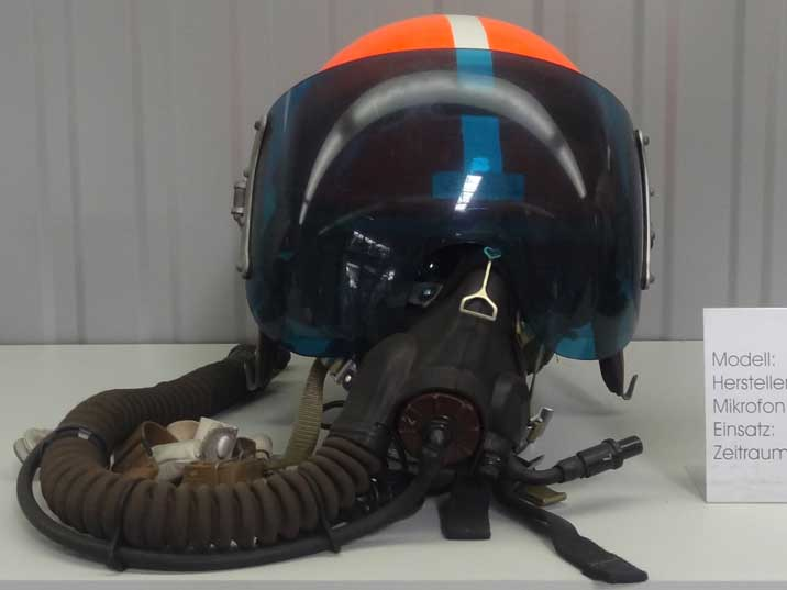 The ZSh-3 Pilot Helmet was first introduced in the early 1960's and is used in virtually every type of Soviet-made aircraft