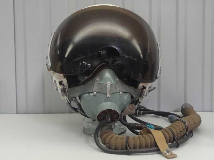 The ZSh-5 helmet was standard Soviet issue for its pilots in the 1970's, huge numbers have been manufactured until the late eighties