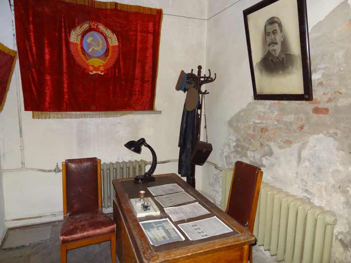 A KGB office in the basement is the first attempt to change the Stalin Museum into the Museum of Russian Aggression