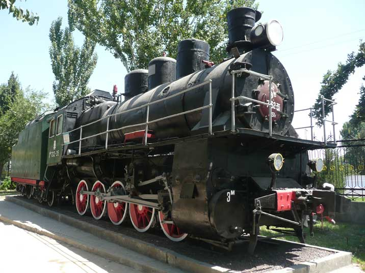 Em class steam locomotive produced by the American Baldwin factory for the Soviet Union in 1931