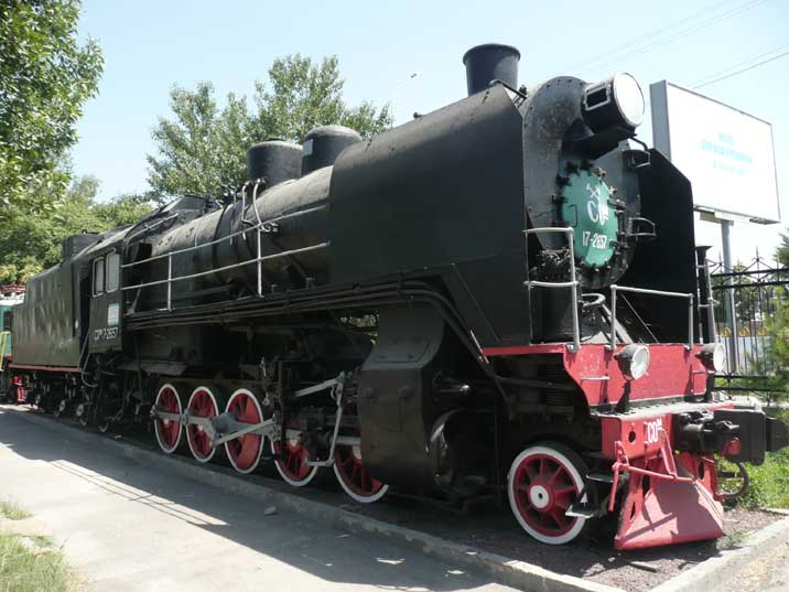 SO 17 class steam locomotive constructed in 1934, this class was named after Georgian Bolshevik and Politburo member Grigory Ordzhonikidze