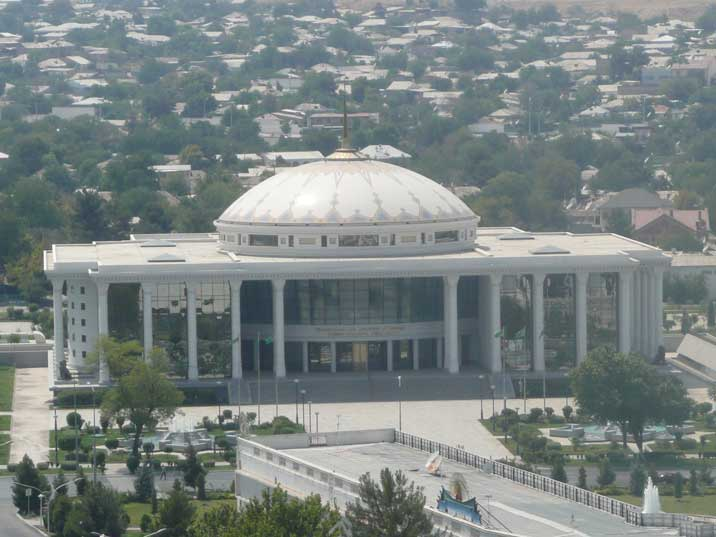 The National Museum of History in the capital of Turkmenistan