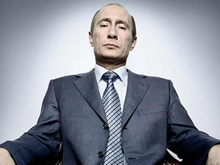 Photo of Vladimir Putin taken by Time magazine in 2007 when he was elected person of the year