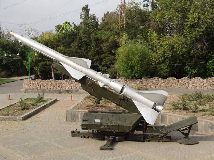 The Soviet S-75 Dvina surface-to-air missile is the most widely-deployed air defense missile in history