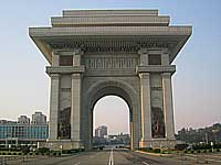 Pyongyang monuments and architecture
