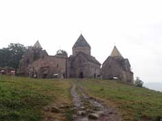 Goshavank is a 12-13th century Armenian monastery located in the village of Gosh in the Tavush Province