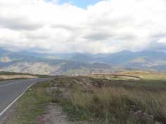 The Lachin Corridor is the road that connects Armenia with Nagorno Karabakh trough Azeri land occupied during the 1990s war