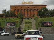 The Ararat Brandy Factory from 1887 that produces the famous Ararat Cognac that is mostly exported to Russia