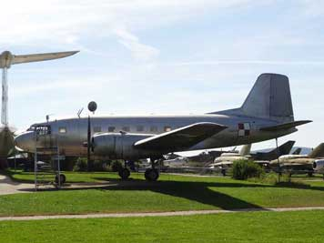 Ilyushin Il-14 that replaced the Lisunov Li-2 and the DC-3, this example was produced in 1954 and flew in 1988 to the museum from Krakow