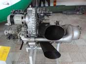 Isotov GTD-350 Engine gas-turbine turboshaft engine build in the 1960s for the Mil Mi-2 helicopter