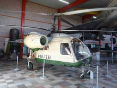 Kamov Ka-26 light utility helicopter in the original colors of the former