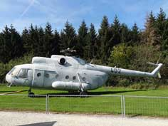 Mil Mi-9 (also Mil Mi-8IV) that served as flying command post in the East German army from Cottbus and now needs restoration