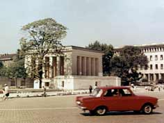 Georgi Dimitrov mausoleum in Sofia after his death in 1969