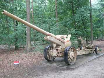 152mm ML-20 Soviet Howitzer outside Liberty Park museum