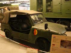 Trabant P-60 used for border patrol by East German border guards