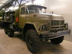 Soviet ZIL-131 general purpose 3.5 tons 6x6 army truck in Overloon